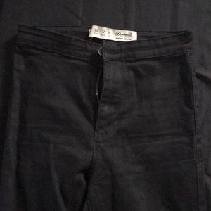Denim & co size 2 skinny high waisted ripped jeans